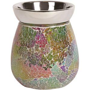 Aroma Electric Wax Melt Burner - Rainbow Crackle