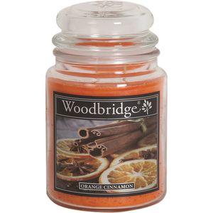 Woodbridge Large Scented Candle Jar - Orange Cinnamon