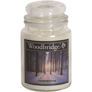 Woodbridge Large Scented Candle Jar - Winter Forest