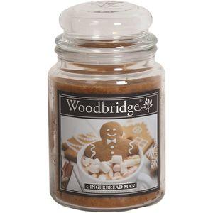 Woodbridge Large Scented Candle Jar - Gingerbread Man