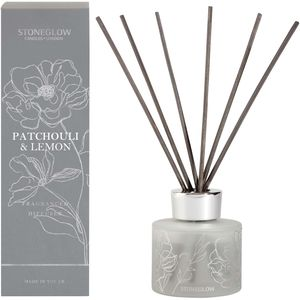 Stoneglow Candles Day Flower Reed Diffuser 120ml - Patchouli & Lemon