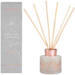 Stoneglow Candles Day Flower Reed Diffuser 120ml - White Tea & Wisteria