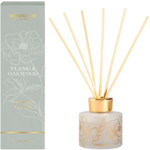 Stoneglow Candles Day Flower Reed Diffuser 120ml - Ylang & Oakwood