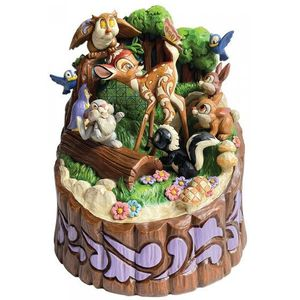 Disney Traditions Carved by Heart Figurine - Forest Friends (Bambi)
