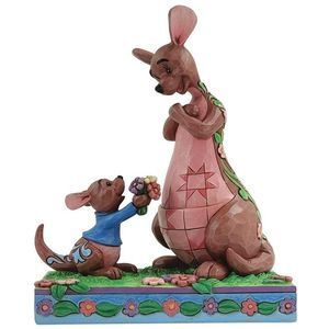 Disney Traditions The Sweetest Gift (Roo Giving Kanga Flowers) Figurine
