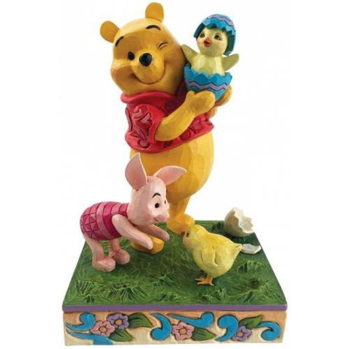 Disney Traditions A Spring Surprise (Easter Pooh & Piglet) Figurine 6010103