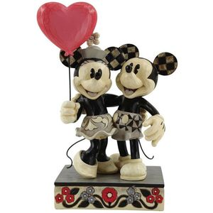 Disney Traditions Love is in the Air (Mickey & Minnie Mouse Heart) Figurine
