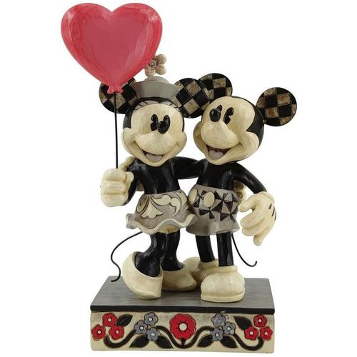 Disney Traditions Love is in the Air (Mickey & Minnie Mouse Heart) Figurine 6010106