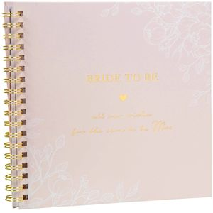 Amore Hen Party Bride to Be Wishes and Advice Book