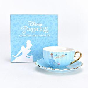 Disney Collectable Pastel Princess Cup & Saucer Set - Cinderella