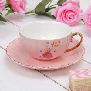 Disney Collectable Pastel Princess Cup & Saucer Set - Aurora