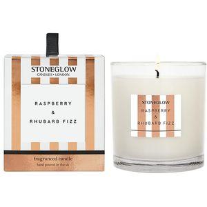 Stoneglow Candles Modern Classics Candle - Raspberry & Rhubarb Fizz