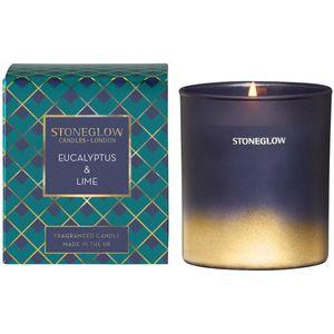 Stoneglow Candles Seasonal Tumbler Candle - Eucalyptus & Lime