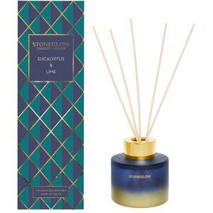 Stoneglow Candles Seasonal Reed Diffuser - Eucalyptus & Lime