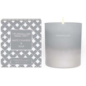 Stoneglow Candles Seasonal Tumbler Candle - White Cashmere & Pear