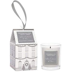 Stoneglow Candles Seasonal Votive Candle - White Cashmere & Pear
