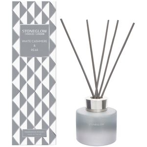 Stoneglow Candles Seasonal Reed Diffuser - White Cashmere & Pear