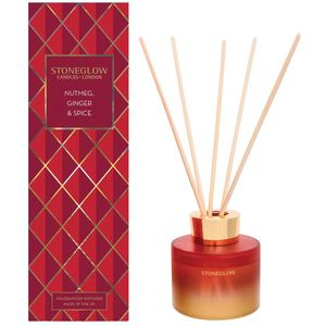 Stoneglow Candles Seasonal Reed Diffuser - Nutmeg, Ginger & Spice