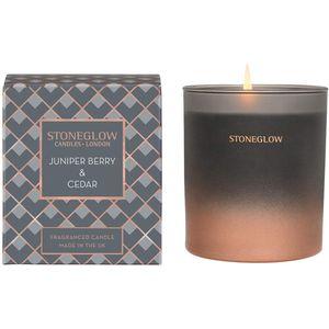 Stoneglow Candles Seasonal Tumbler Candle - Juniper Berry & Cedar