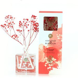 Ashleigh & Burwood Life in Bloom Floral Reed Diffuser - Winter Rose & Jasmine