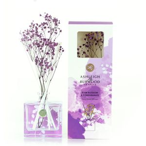 Ashleigh & Burwood Life in Bloom Floral Reed Diffuser - Plum Blossom Pomegranate