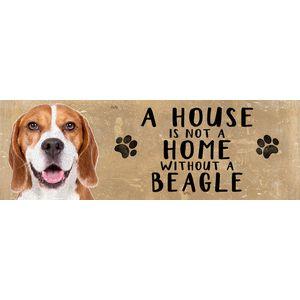 Wooden Sign - Beagle Dog