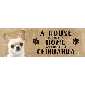 Wooden Sign - Chihuahua Dog