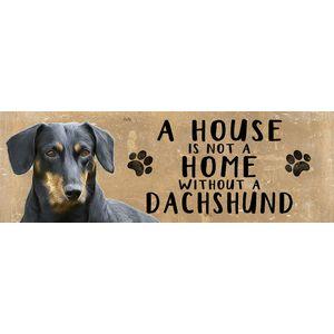 Wooden Sign - Dachshund Dog