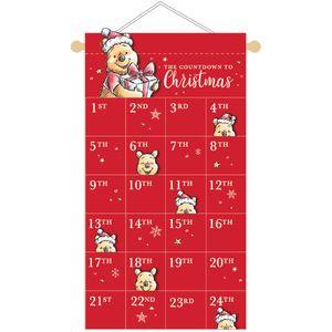Disney Winnie the Pooh Fabric Advent Calendar - The Countdown to Christmas
