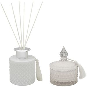 Desire Boutique Candle & Reed Diffuser Gift Set - Fresh Linen