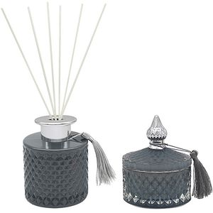 Desire Boutique Candle & Reed Diffuser Gift Set - Magnolia & Mulberry