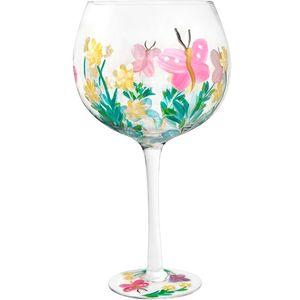 Flower Gin Copa Glass - Butterfly