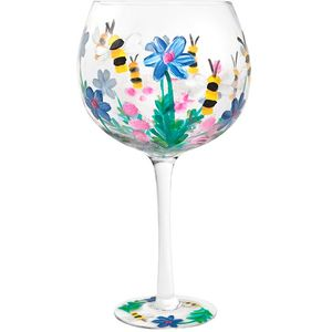 Flower Gin Copa Glass - Bees