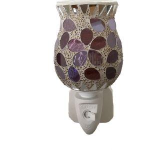 Sense Aroma Electric Wax Melt Burner Plug In - Tulip Mosaic Purple Petal