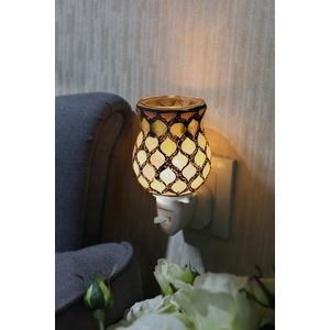 Sense Aroma Electric Wax Melt Burner Plug In - Tulip Mosaic Pearl Moroccan