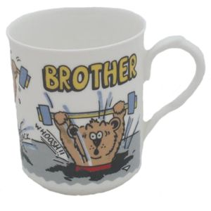 Brother China Mug