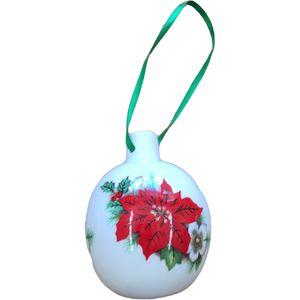 Christmas Tree Bauble - China Poinsettia