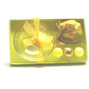 Calligraphy Candle & Pot Pourri Gift Set