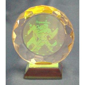 Zodiac Star Sign Crystal - Aquarius