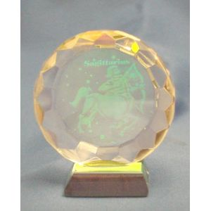 Sagittarius Star Sign Crystal