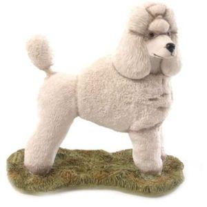 Sherratt & Simpson Dogs White Poodle Standing Figurine
