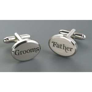 Wedding Party Cufflinks - Grooms Father