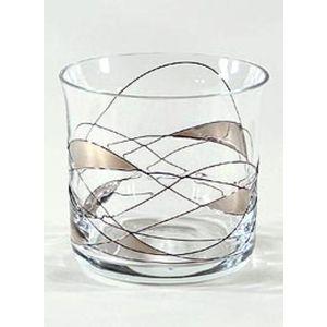 Platinum Whisky Glass Tumbler (Qty x1)