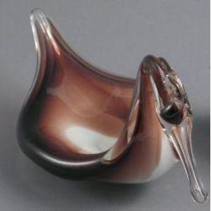 Soap Dish in Amethyst Swirl