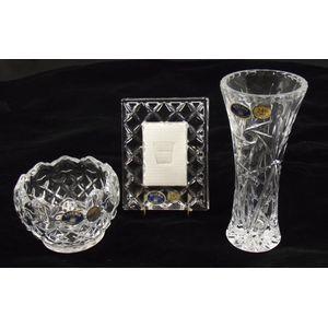 Bohemia Glassware Vanity Set