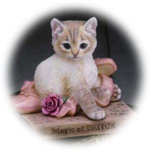 Kitten Tales The Magic Of Dance Figurine