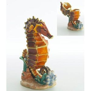 Secret Treasures Seahorse Trinket Box