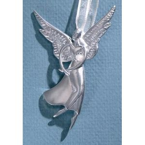 Birthstone Angel Pin - June