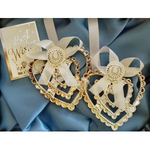 Brides Lucky Hearts Charm