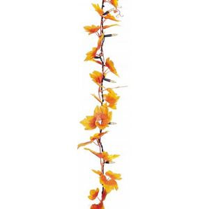 Party Lights - Flower Chain Autumn Leaves 40 Flowers Indoor/Outdoor